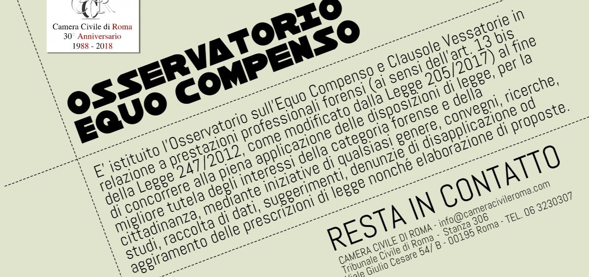 Osservatorio Equo Compenso
